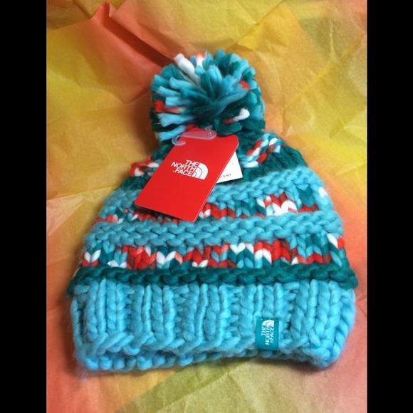 68c40382e The North Face Nanny knit beanie NWT hand knit OS NWT